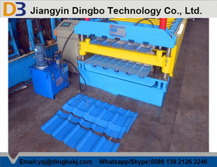Full Automatic Metal Roof Panel Roll Forming Machine With 1 Year Warranty