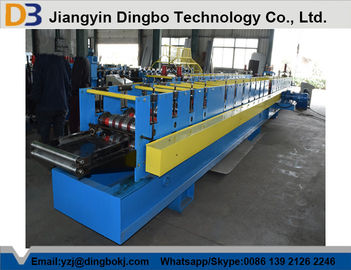 11Kw Rain Gutter Making Machine / Cold Roll Forming Machine High Speed